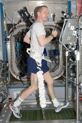 ESA astronaut, Frank De Winne, Commander of  mission Expedition 21, during the Tip training session. Credits NASA